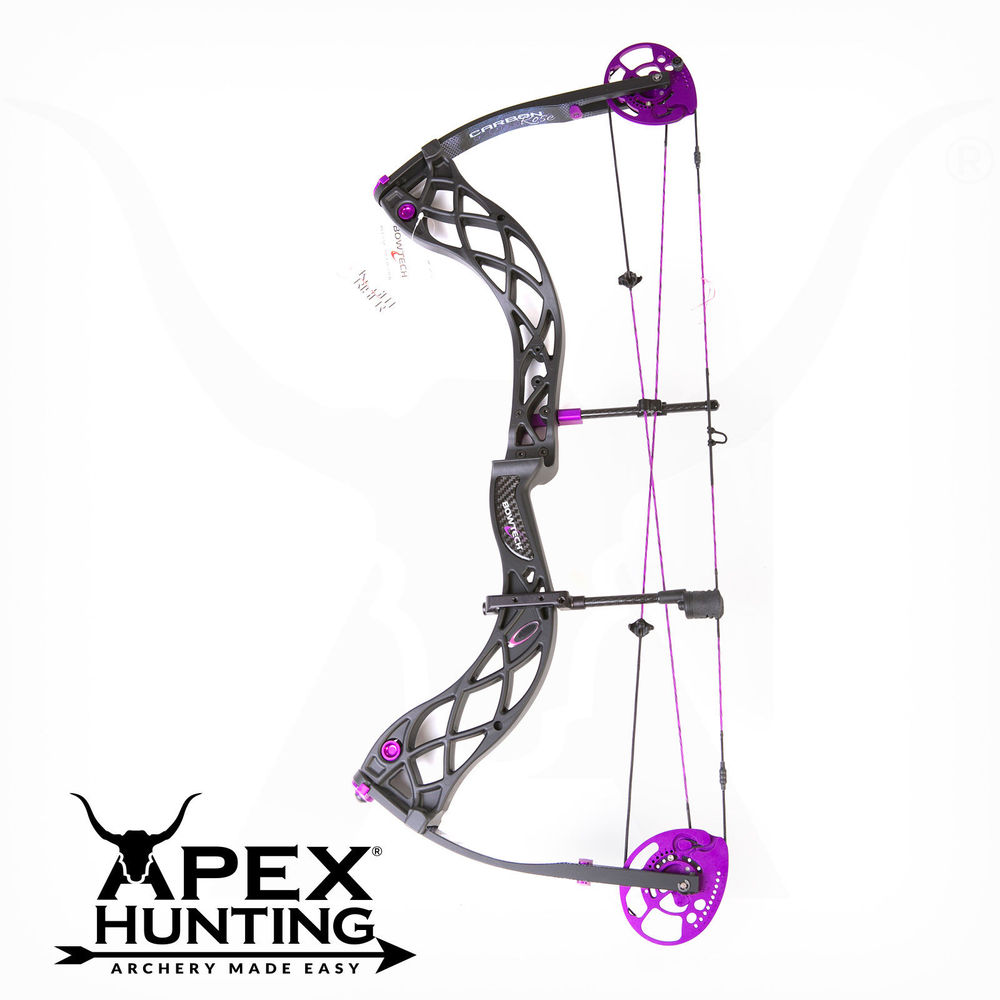 BOWTECH CARBON ROSE COMPOUND BOW 2014 MODEL FROM APEX