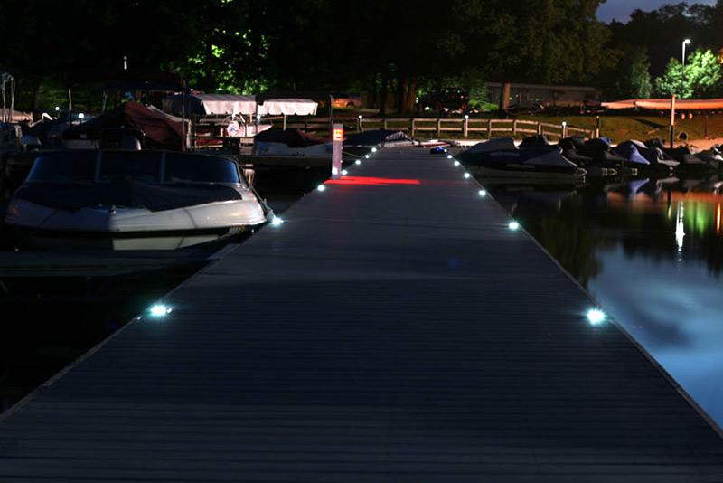 dock lighting ideas led dock lighting