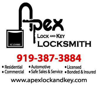 Apex Lock and Key Locksmith 9193873884 1200 East Williams