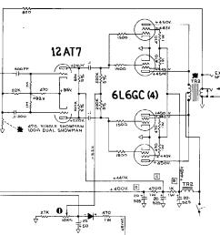 fender showman aa763 schematic [ 3180 x 3256 Pixel ]
