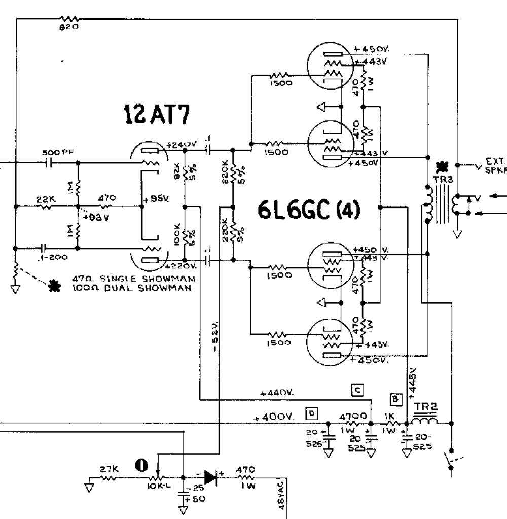medium resolution of fender showman aa763 schematic