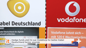 Hedge Fund Elliott To Sue Kabel Deutschland over Vodafone