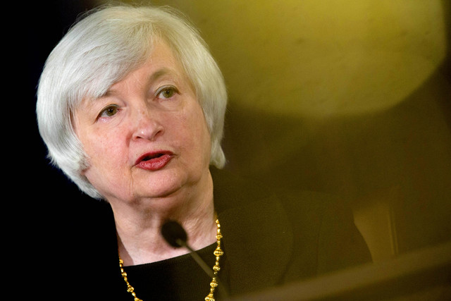 Federal Reserve Chair Janet Yellen,