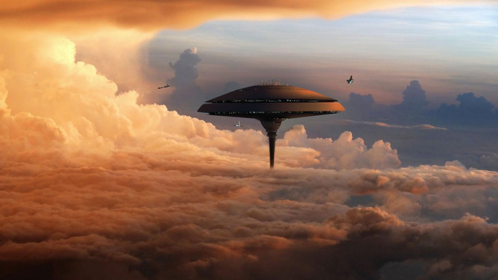 NASA Plans a Floating City over the Clouds of Venus