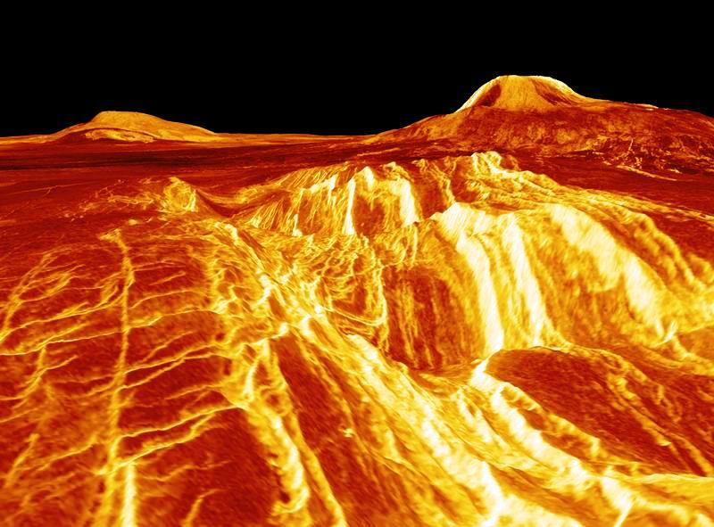 Venus Surface May Have Been Covered With CO2 Ocean