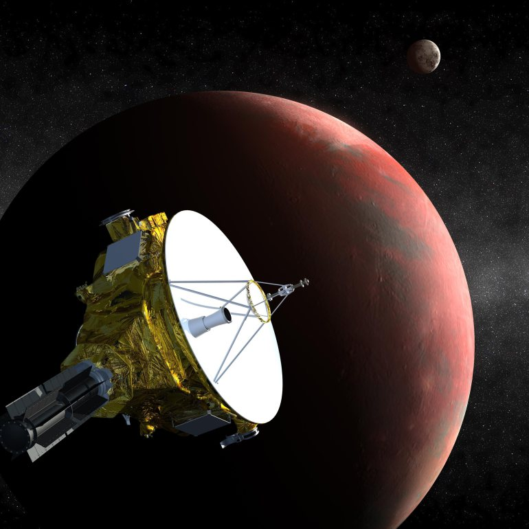Sleepy space probe New Horizons awakens for close-up with Pluto