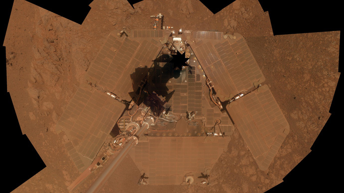 Mars Rover Opportunity Is Aging, Suffering Amnesia Events, NASA