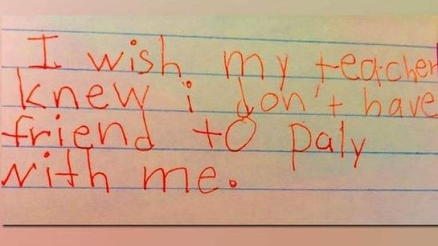 IwishMyTeacherKnew A Way For Teachers to Better Understand And Support Their Students