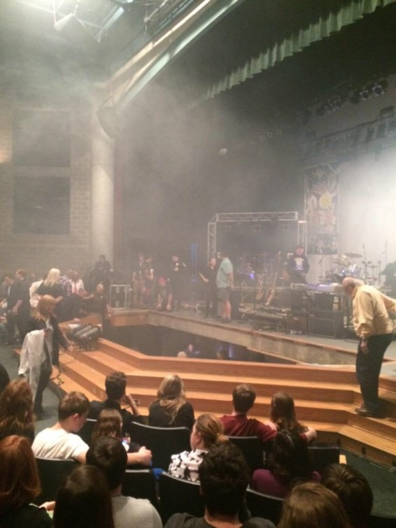 Over 12 People Hurt After Stage Collapses At Westfield High School, Indiana