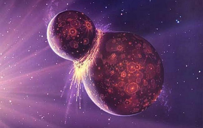 The Moon's Origin Earth's Clash with Theia