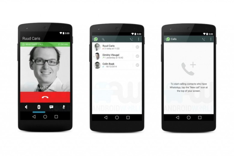 WhatApp Enables Voice Calling For iOS