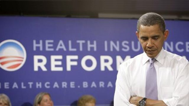 Obama has his healthcare reform out of control
