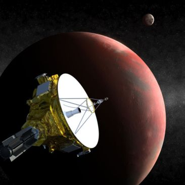 Pluto to be visited next month