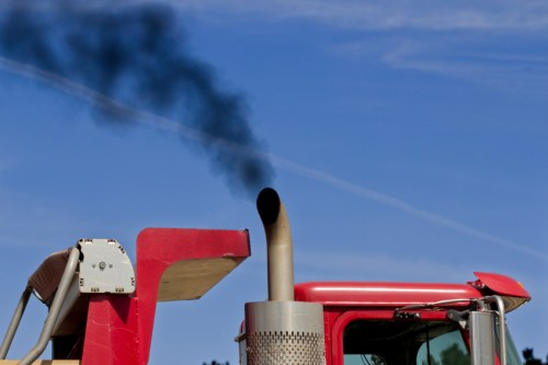 """tractor exhaust co2 emissions climate change"""