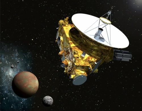 """""""Pluto Charon New Horizons"""""""