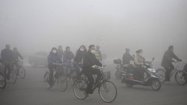 China's Air Pollution Bleeding Into The US