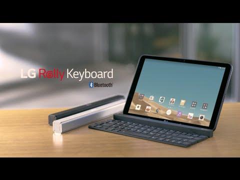 """LG's Rolly Keyboard"""