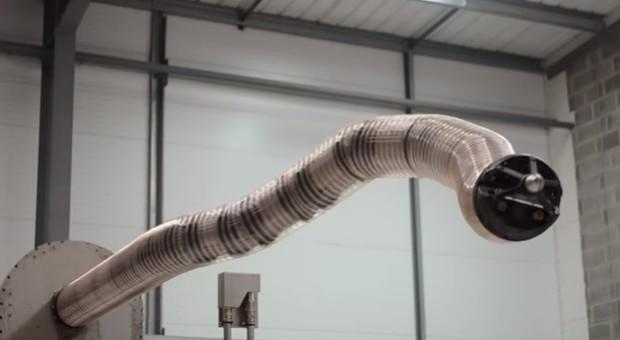 """""""Tesla's snake robot bending"""""""