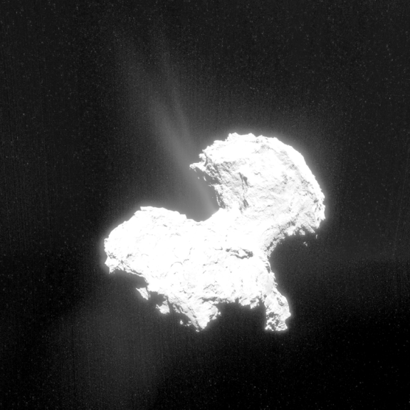 Comet and Rosetta Approach the Sun