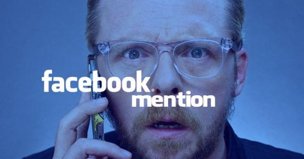 """facebook mentions is not just for celebrities anymore"""