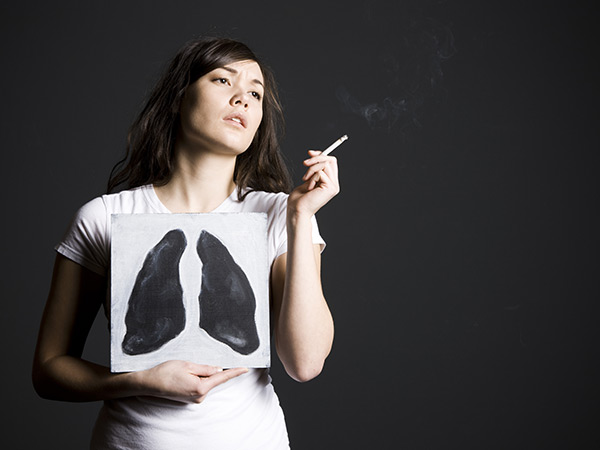 """""""some smokers are healthy due toe their DNA"""""""