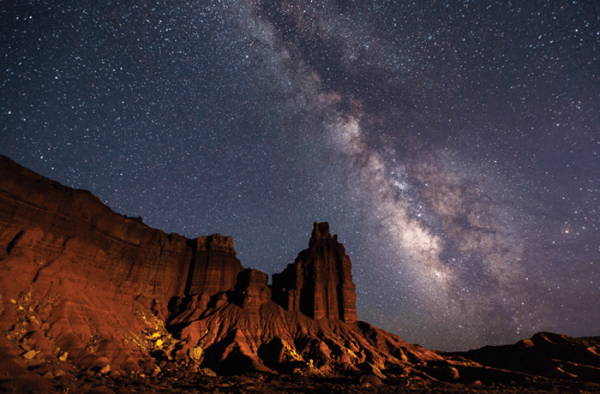 """""""national parks are the only haven for nighttime skies"""""""