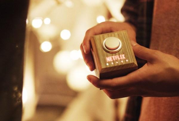 """netflix unveils nextflix and chill lazy button"""