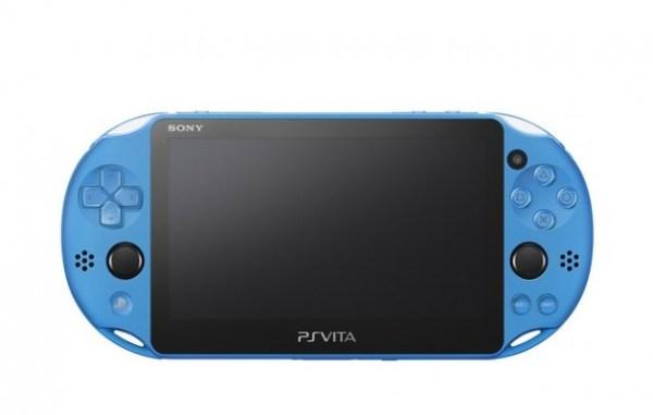 """""""ps vita aqua blue colors your portable device"""""""