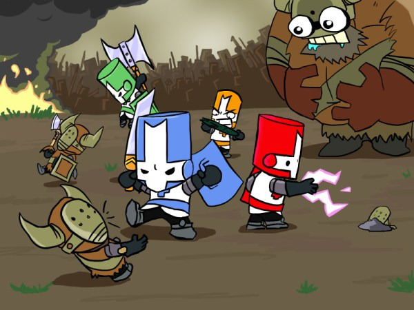 """""""castle crashers revamped for xbox one"""""""
