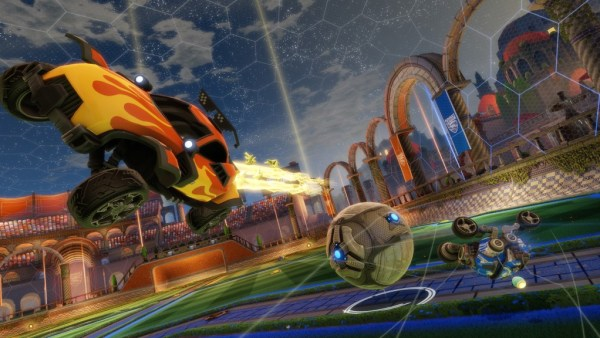 """""""rocket league is amping up an update and a dlc"""""""