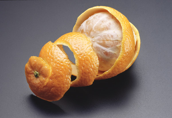 """orange peels against mercury"""