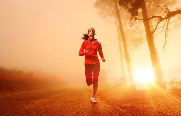 Runner's high is the 'feel good' effect of a long run.