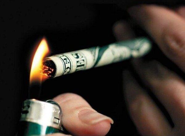"""""""smoking money"""""""