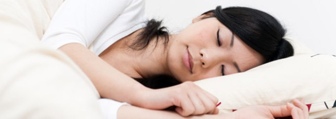 "alt=""Asian Woman Sleeps Peacefully"""