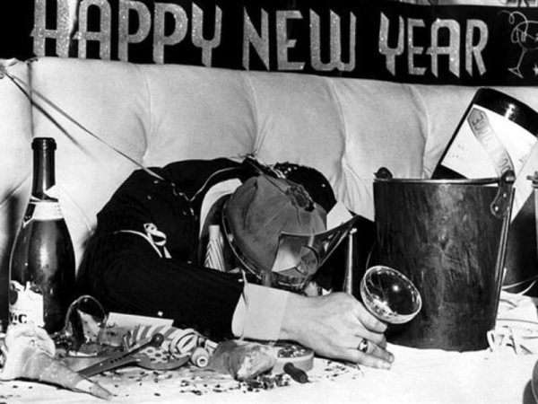 """New Year hangover"""