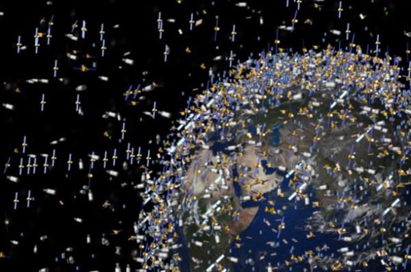 """space debris"""