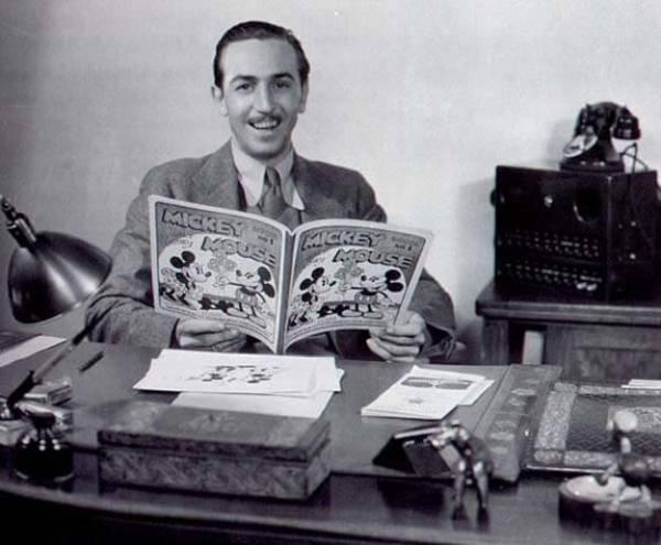 """Walt Disney office restored"""