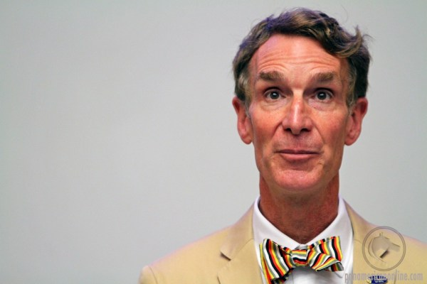 """Bill Nye pleads for electric cars in NASCAR"""
