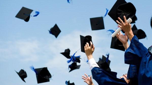 """graduation rates increase"""