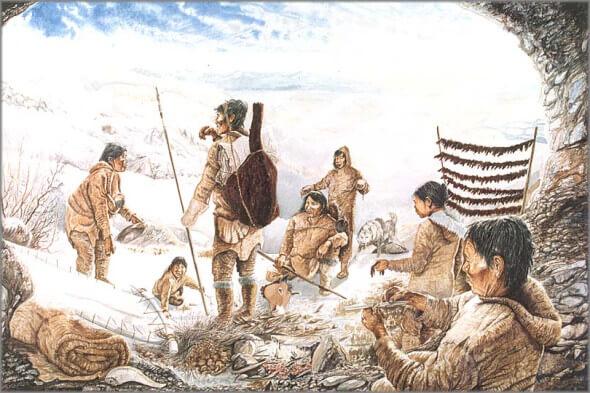 """Ice Age trans-Atlantic migration"""