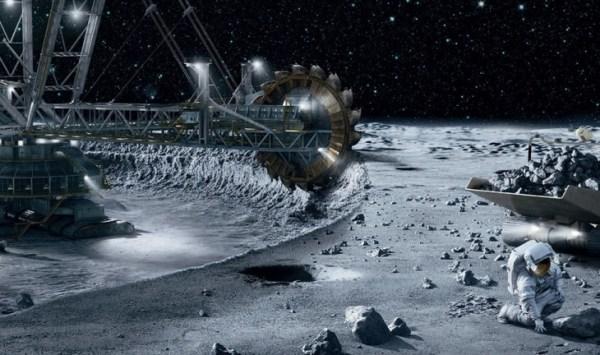 """space mining"""