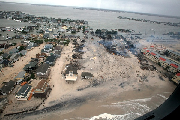 The damages caused by Hurricane Sandy