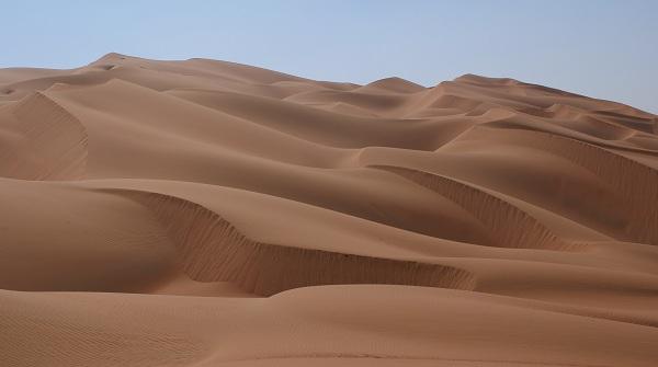 An image of a desert