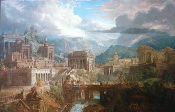 An ancient Greek city