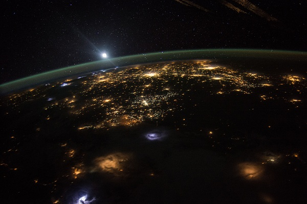 Earth captured form the ISS