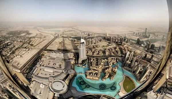 The city of Dubai