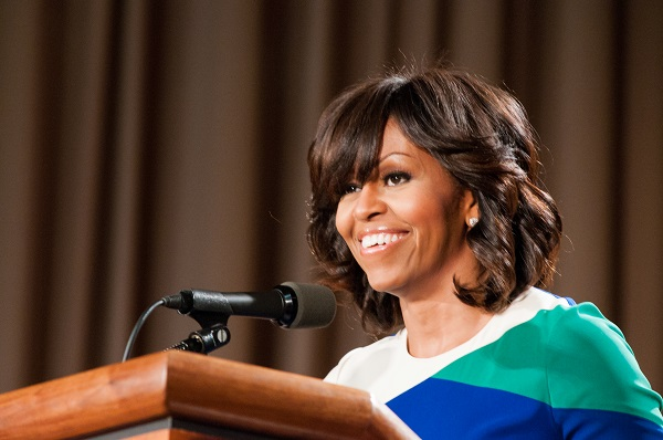 Michelle Obama to Address Crowd at Apple Conference