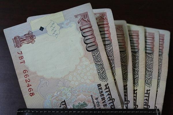 rupee bills