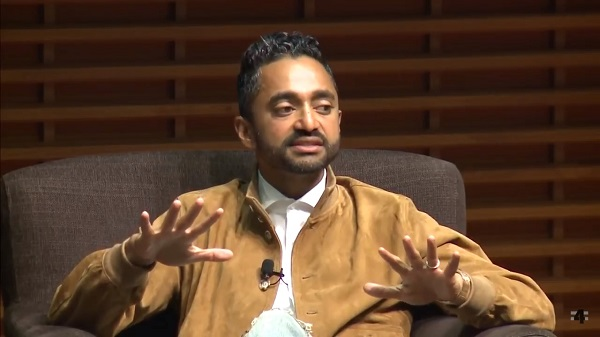 Former Facebook founding executive Chamath Palihapitiya
