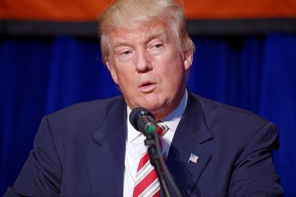 Trump Keeps Up His Tweet Tirade Against Amazon As Shares Fall
